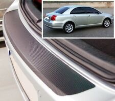 Toyota Avensis Hatchback MK2 - Carbon Style rear Bumper Protector