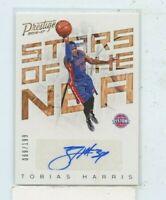 TOBIAS HARRIS 2016-17 Panini Prestige Stars of the NBA Signatures Auto #D /199