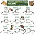 Duke Body Grip Traps - Choose Size & Quantity - 110 -155 -160 - 220 - 280 - 330