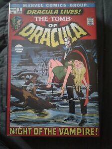 Tomb of Dracula Vol 1 Omnibus OOP, Mint, Sealed, Brand New!
