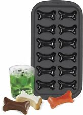 Wilton Halloween Silicone Bone Shaped Ice Cube Tray NEW