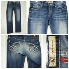 BKE Buckle Black Jeans Madison - Thick Stitch - Boot Cut - Stretch - W32 L33-1/2
