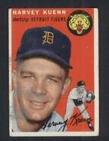 1954 Topps #25 Harvey Kuenn GVG RC Rookie Tigers 96753