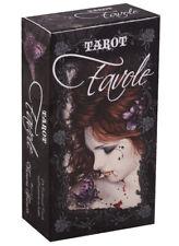 New 78 Favole Tarot Cards Fantasy Dark Gothic Deck Guidebook By Victoria Frances