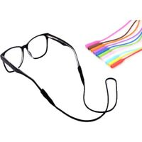 Silicone Glasses Strap 53cm Chain Cord Holder Neck Eyeglass Lanyard for Sports
