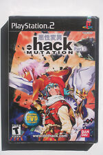 .hack MUTATION PS2 US NTSC Brand New Factory Sealed Y-Fold w/ Anime DVD RARE