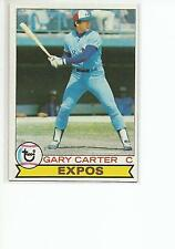 GARY CARTER 1979 Topps card #520 Montreal Expos NR MT
