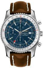 New Breitling Navitimer World Blue Dial Men's Watch Sale A2432212/C651-443X