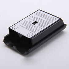 Black Battery Pack Cover Shell Case For Xbox 360 Slim Wireless Controller Hot YG