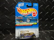 1999 Hot Wheels Treasure Hunt #937 Gold '32 Ford Delivery w/Gold 5 Spoke Wheels