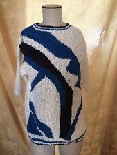 """Stylin' Vintage Women's """"Silvercord"""" Short Sleeve Sweater+Size L+"""