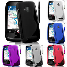 Protective Cover For Nokia Lumia 610 RM-835 TPU Silicone Flip Case Cover