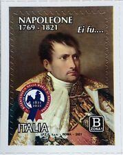ITALIA 2021 NAPOLEONE BONAPARTE FRANCOBOLLO NUOVO