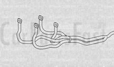 TUBI DI SCARICO ANTERIORE ALFA ROMEO 145 1.7 Benzina due volumi 10/1994 a 03/1997