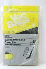 Eureka Bravo and Powerline Style U No. 3045 vip 2030 Vacuum Bags - 3 Bags