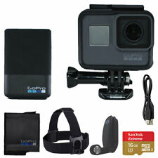 GoPro HERO5 Black 4K Action Camera Bundle + 16GB Micro SD Card and Accessories