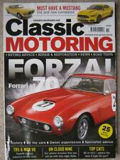 Classic Motoring November 2017 Ferrari at 70 Mustang TR6 MG RV8 Discovery E-Type