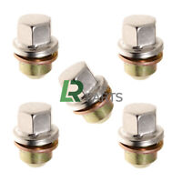 LAND ROVER DISCOVERY 2 NEW STAINLESS CAPPED ALLOY WHEEL NUTS SET (X5) - ANR3679