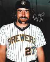 1982 BREWERS Pete Ladd signed 8x10 photo AUTO Autographed Milwaukee