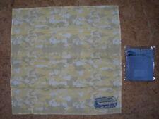 Bandana / Foulard Femme Oakley Jaune et Gris - 51 x 51 cm 100 coton