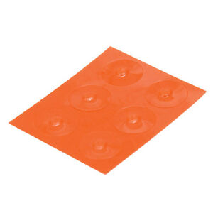 Loc-Dots Keyboard Key Location Dots: Orange, Low Vision, Tactile Loc Dots, Blind
