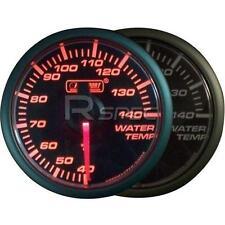 Prosport 45mm di temperatura dell' acqua gradi C MANOMETRO Amber / Cancella Motore Passo-Passo
