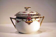 POT à crème PORCELAINE LIMOGES 1926 Pastaud Décorateur PORCELAIN  cream cup