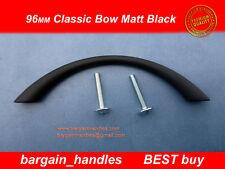 MATT BLACK Kitchen, Cabinet, Bathroom, Cupboard Door/Drawer Handles pullers x10
