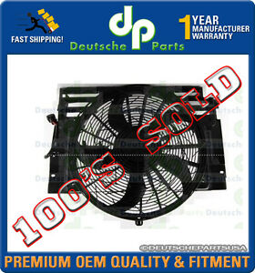 LAND ROVER RANGE ROVER 4.4 CONDENSER FAN MOTOR ASSEMBLY PGK000150 2003 04 05