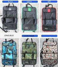 Asiento trasero Organizador del asiento de coche soporte tablet viaje bolsa de almacenamiento Multi Bolsillo Varis