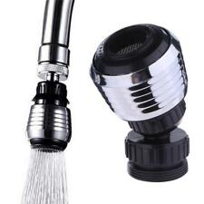 360° Rotary Head Kitchen Bathroom Shower Water Saving Nozzle Filter Tap Faucet