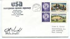 1976 ESA European Space Agency Fairbank Station Alaska ESRO Polar Cover SIGNED