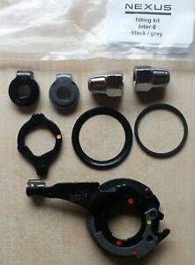 Shimano Nexus 8 Speed Bicycle Hub Gear Fitting Kit BLACK & GREY (7R & 7L)