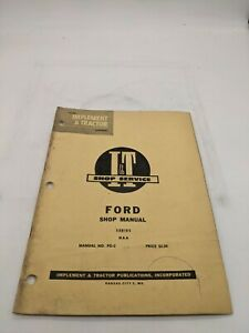 Ford NAA FO-2 I&T Service Repair Manual