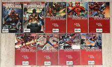 Amazing Spider-Man #530-538 complete run, Road to Civil War & Iron Spidey Suit
