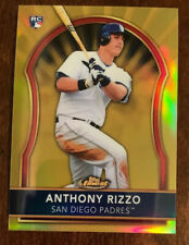 2011 Topps Finest Anthony Rizzo RC Gold Refractor 11/50 Rookie CUBS AMAZING 🔥
