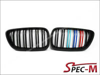 M2 Look Matte Black /// M Tri Front Grille For 14-18 220i 228i M235i F22 F23 BMW