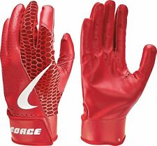 Nike Force Edge Adult Batting Gloves University Red