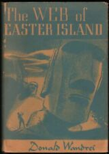 Donald Wandrei / The Web of Easter Island First Edition 1949