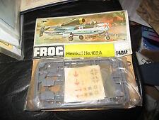 Frog - Heinkel He 162A - 1/72 - 1970s - Bag Kit - Sealed