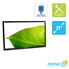 "ViewSonic VA2212M-LED 22"" 1920x1080 FHD LED LCD Monitor ONLY DVI VGA Grade B"