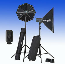 ELINCHROM D Lite RX 4/4 Softbox to go Set (E20839) mit Skyport PLUS Funkauslöser