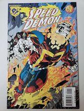 SPEED DEMON #1 (1996) MARVEL DC AMALGAM COMICS 1ST PRINT! SALVADOR LARROCA ART!