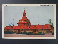 Chicago World's Fair Illinois Ukrainian Pavilion Vintage Linen Postcard 1933