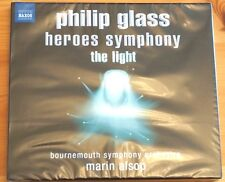 David Bowie Philip Glass Heroes Symphony The Light NAXOS CD SEALED