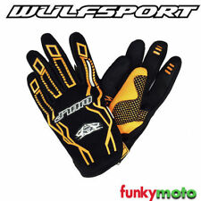 Gants de cross orange