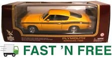 🚗  Yat Ming Road Legends 92178 ~ 1969 Plymouth Barracuda 1:18 Scale Diecast Car