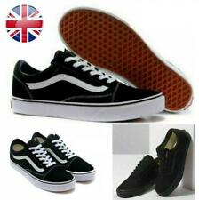 New listing Womens Mens Old Skool VANS Skate Canvas Shoes Fashion Shoes Classic Trainers