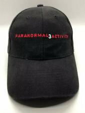 Paranormal Activity 3 The Movie Cap Hat Adult Adjustable Black 100% Cotton