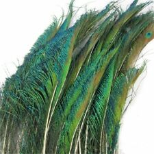 10x Natural Peacock Feather 30-35cm Wedding Halloween Decor Feathers Fashion